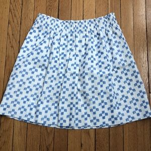 Gorgeous madewell skirt size M lined EUC